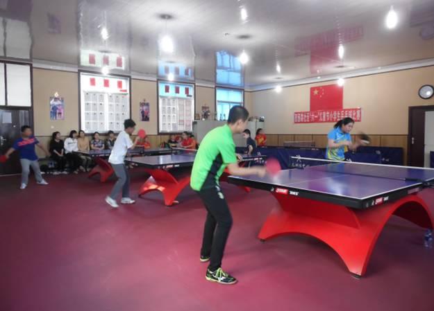 """西园路社区""""六一""""儿童节小学生乒乓球比赛"""
